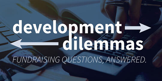 Development Dilemma: How Much Should You Spend on Fundraising?