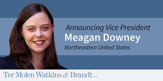 Welcome Meagan Downey to the TW&B Team