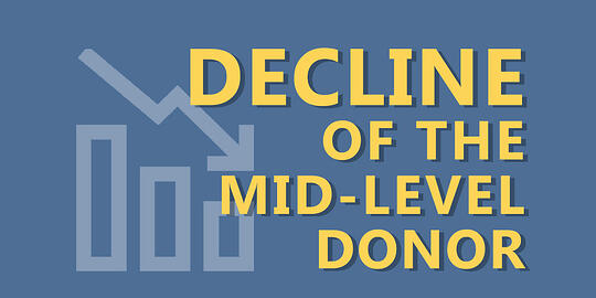 Giving USA 2019: Decline of the Mid-Level Donor