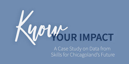 Know your Impact – Data at Work in the Nonprofit Sector