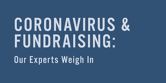 Coronavirus and Fundraising