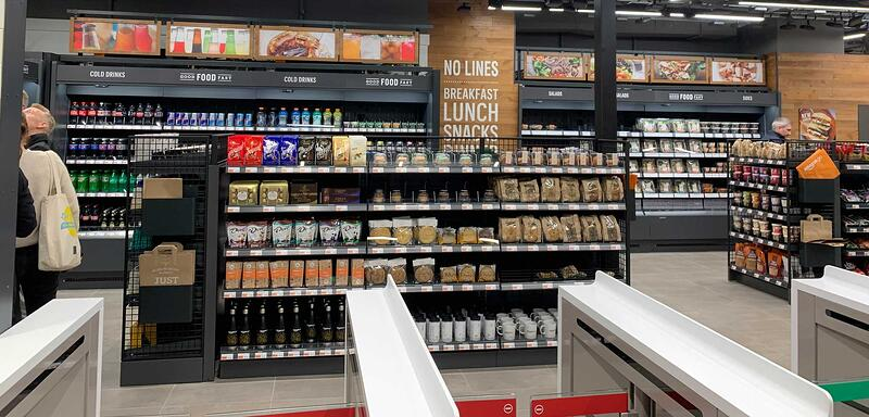 Amazon Go – the 'grab and go' shopping experience!