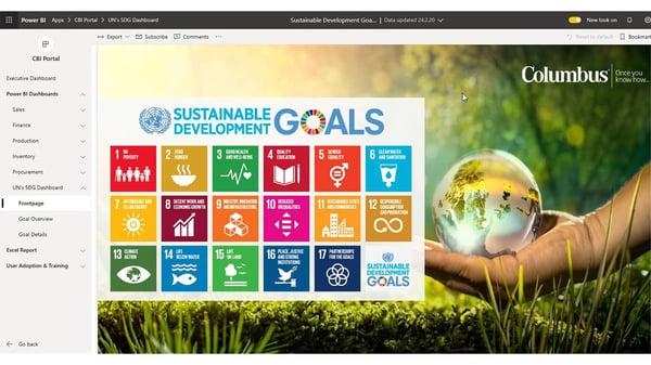 FN's verdensmål understøttes af Power BI Dashboards