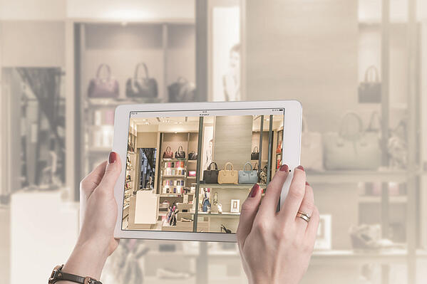 How does the customer drive Connected Commerce?