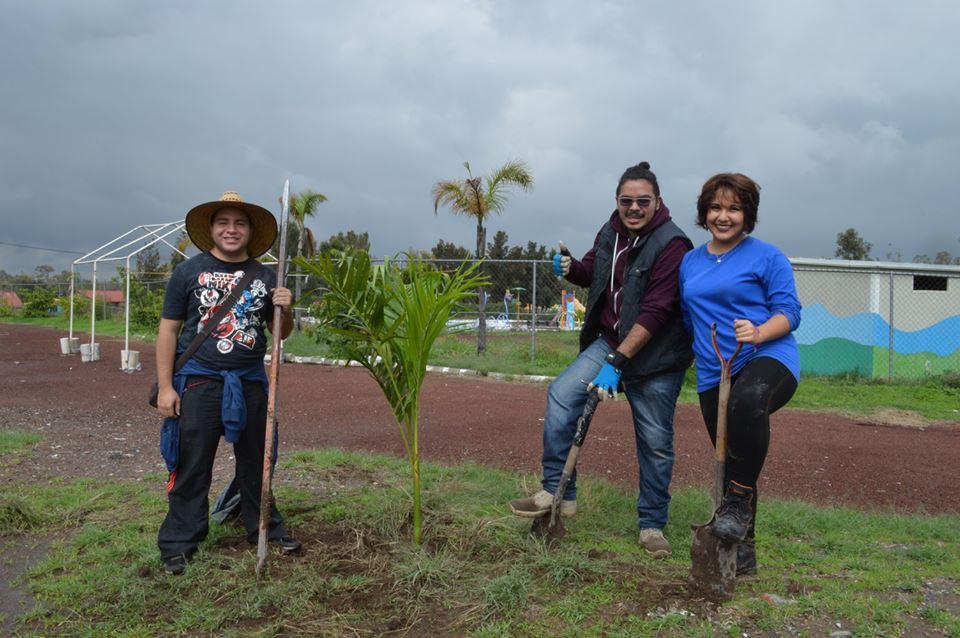 UNITEC Campus Sur apoya con la reforestación de los espacios