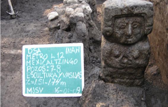 Debajo de las aulas: Los restos aztecas de Campus Sur - Featured Image