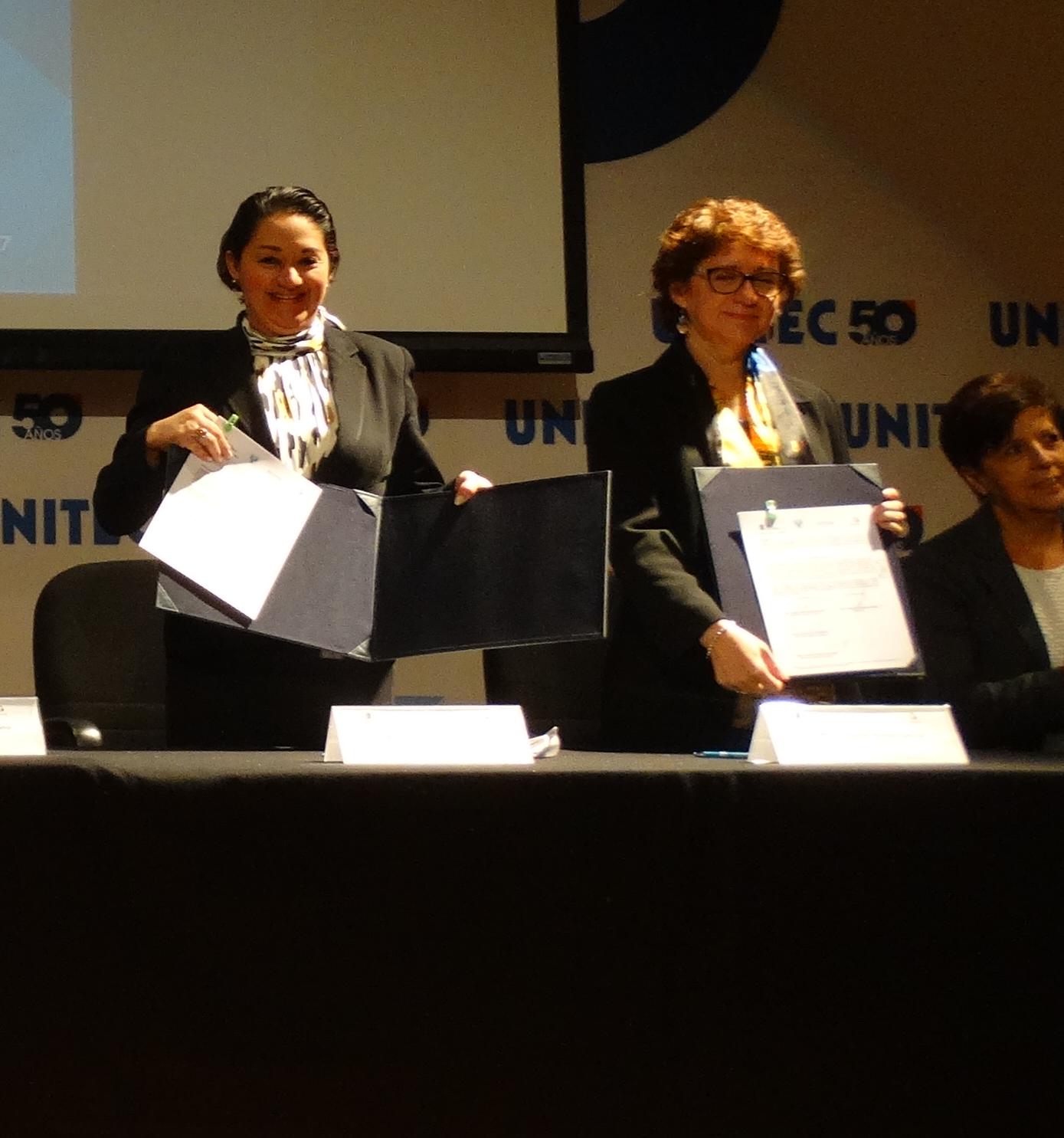 Campus Toluca firma convenio con el Instituto Mexiquense contra las Adicciones