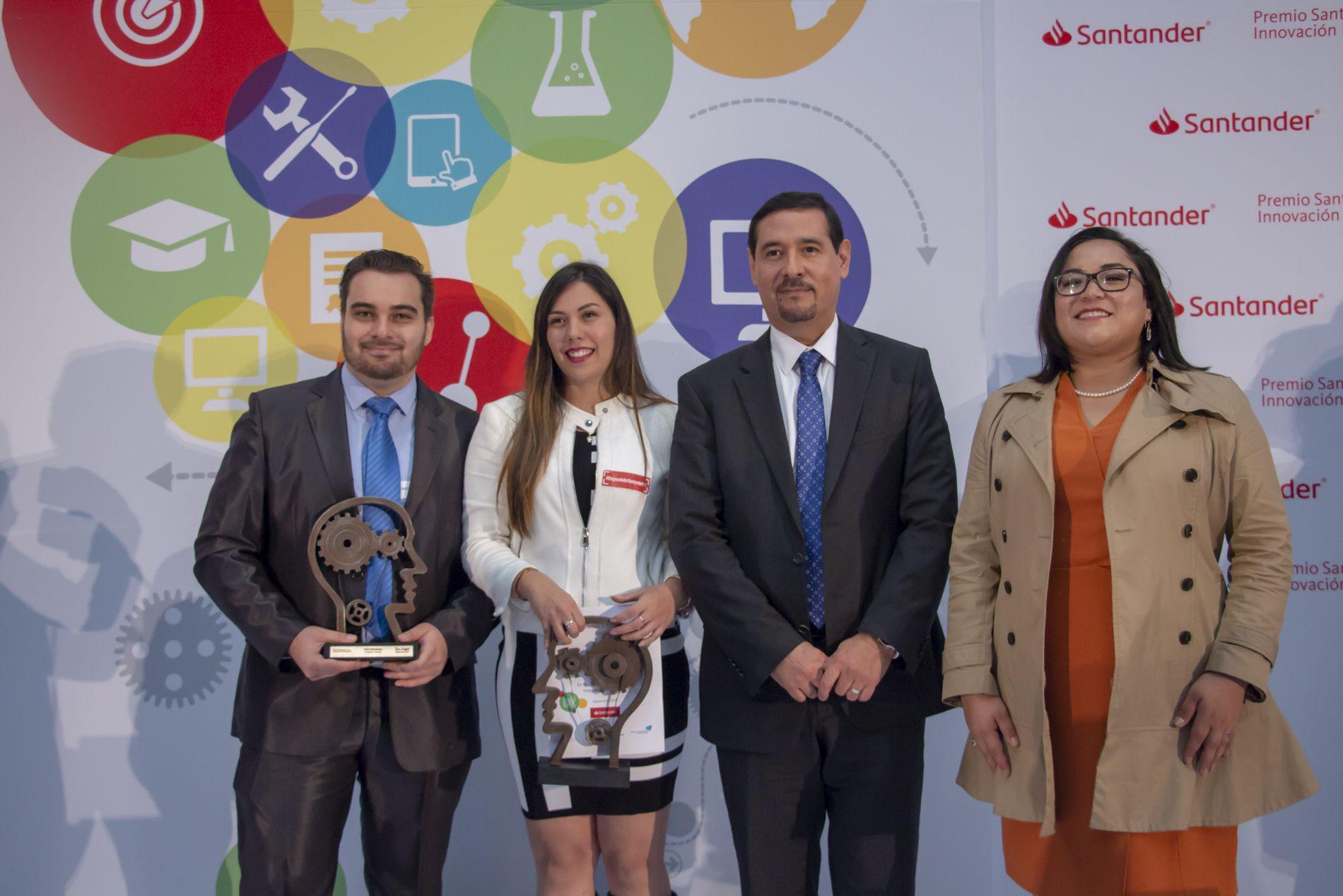 Emprendedores UNITEC ganan 1° y 2° lugar en el Premio Santander 2018 - Featured Image