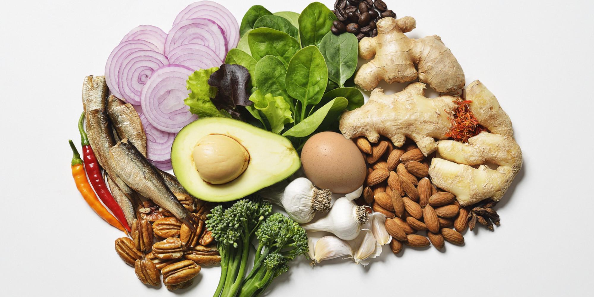 8 súper alimentos que nutren el cerebro - Featured Image