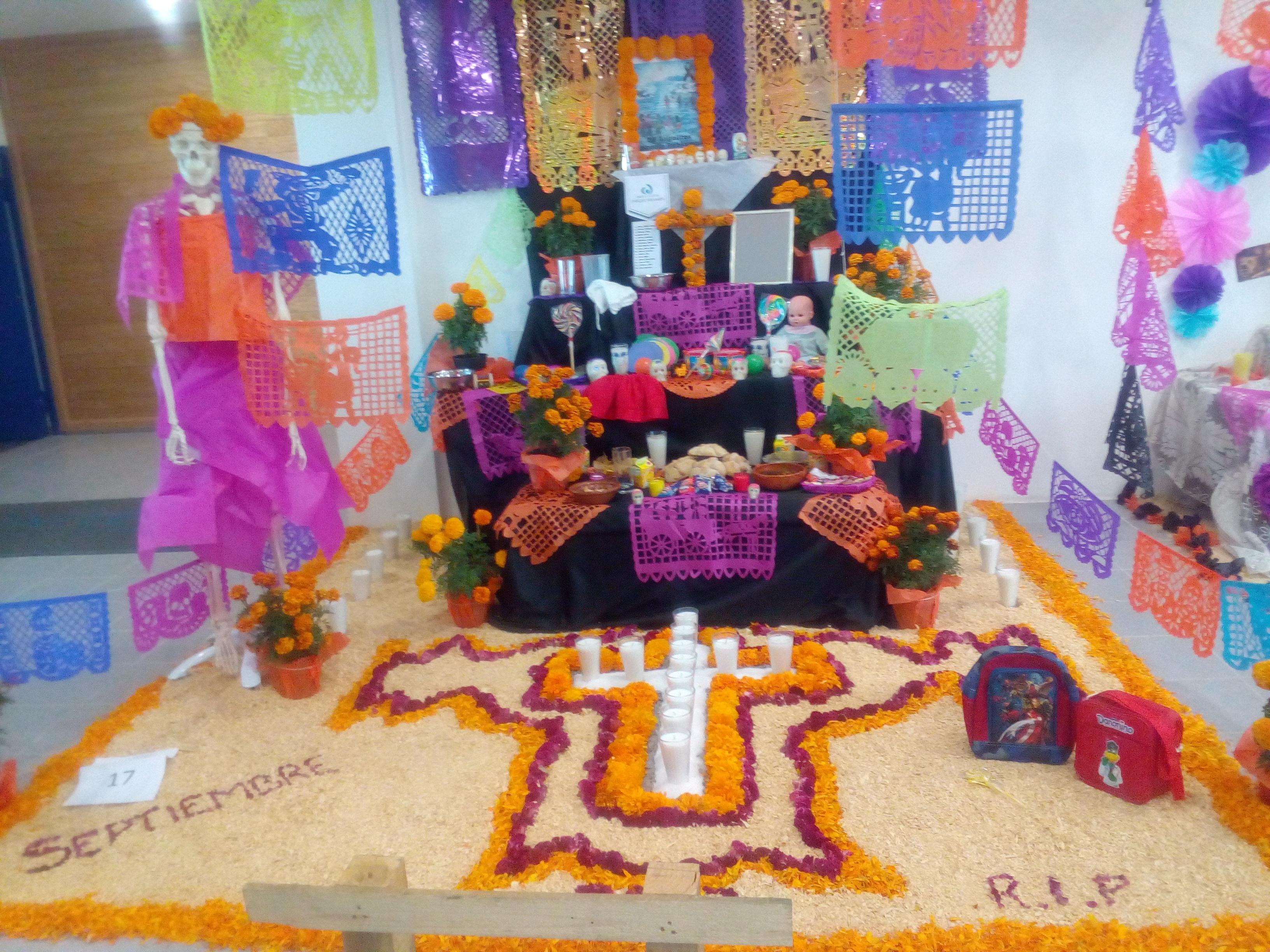 Campus Guadalajara festeja el Día de Muertos