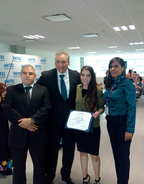 Campus Guadalajara reconoce a sus mejores promedios de licenciatura