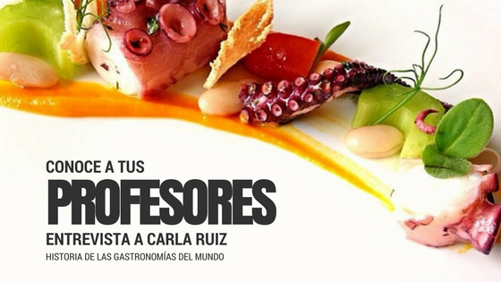 Profesores UNITEC: conoce a Carla Ruiz, apasionada de la gastronomía - Featured Image