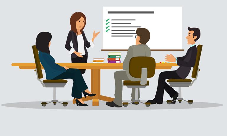 6 reglas de etiqueta para reuniones laborales - Featured Image