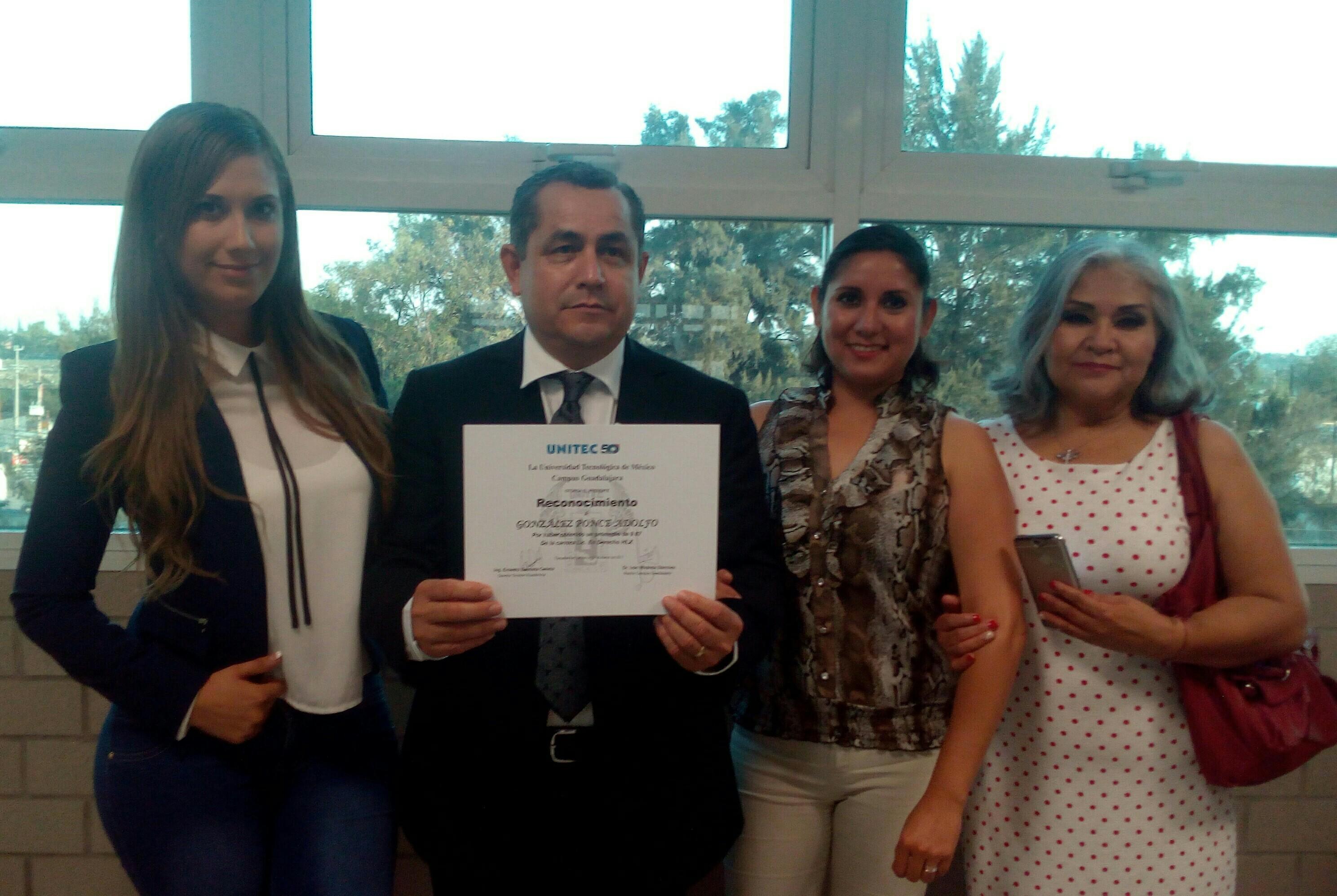 UNITEC Guadalajara reconoce a sus mejores estudiantes de licenciatura - Featured Image