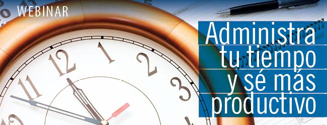 webinar-administración del tiempo