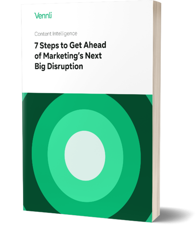 Image of a book for 7 Steps to Get Ahead of Marketing's Next Big Disruption