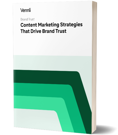 Image of a book for Content Marketing Strategies that Drive Brand Trust