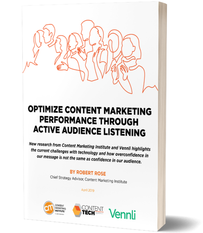 Image of a book for Optimize Content Performance Through Active Audience Listening