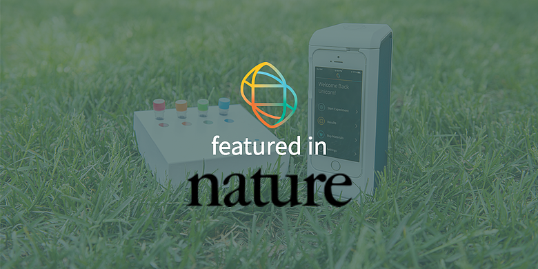 Biomeme two3 and M1 Sample Prep featured in nature