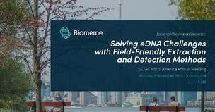 Innovating eDNA Analysis at the SETAC North America Annual Meeting