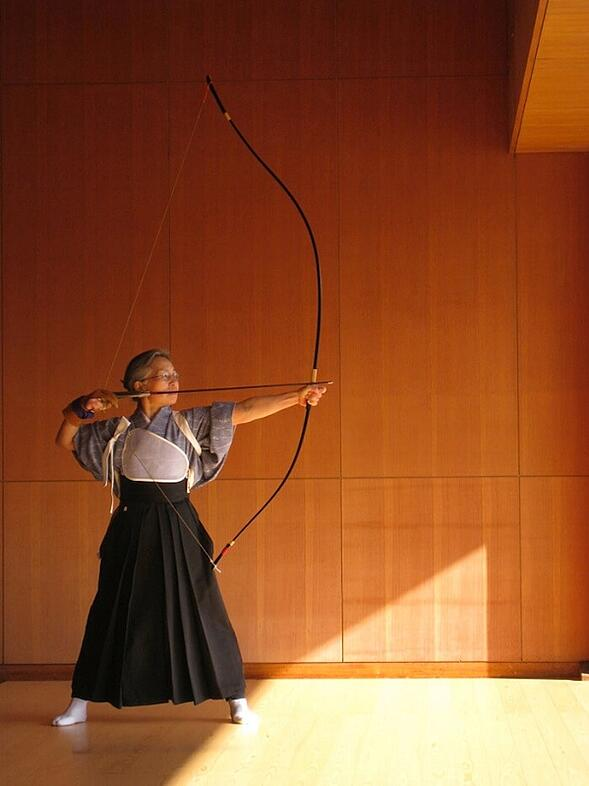 Geido - discipline, focus and being present in the moment; Photo courtesy    Japan Info