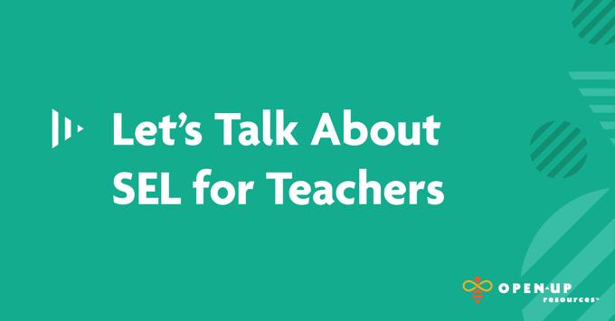 SEL for Teachers, Teal