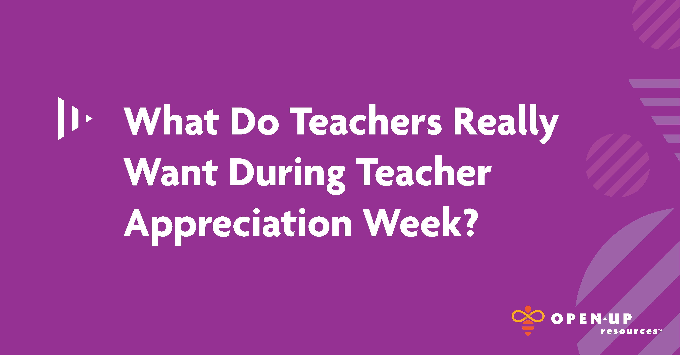 Teacher Appreciation Week, Purple