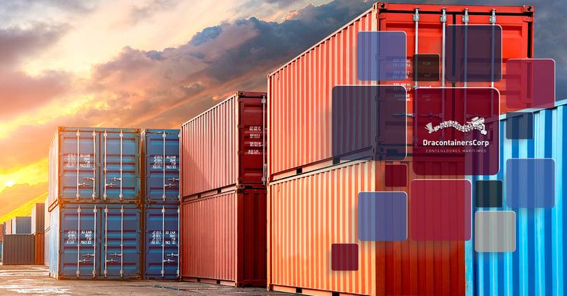 Conoces las características de los contenedores marítimos de 20 pies