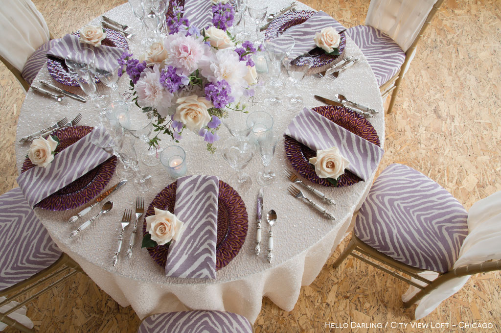 8 ways to use bbj linen s zuri and zecora rental table runners for Table linen color combinations