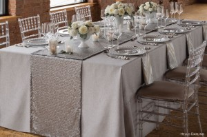 Neutral State Of Mind How To Use Silver And Tan Table Linen