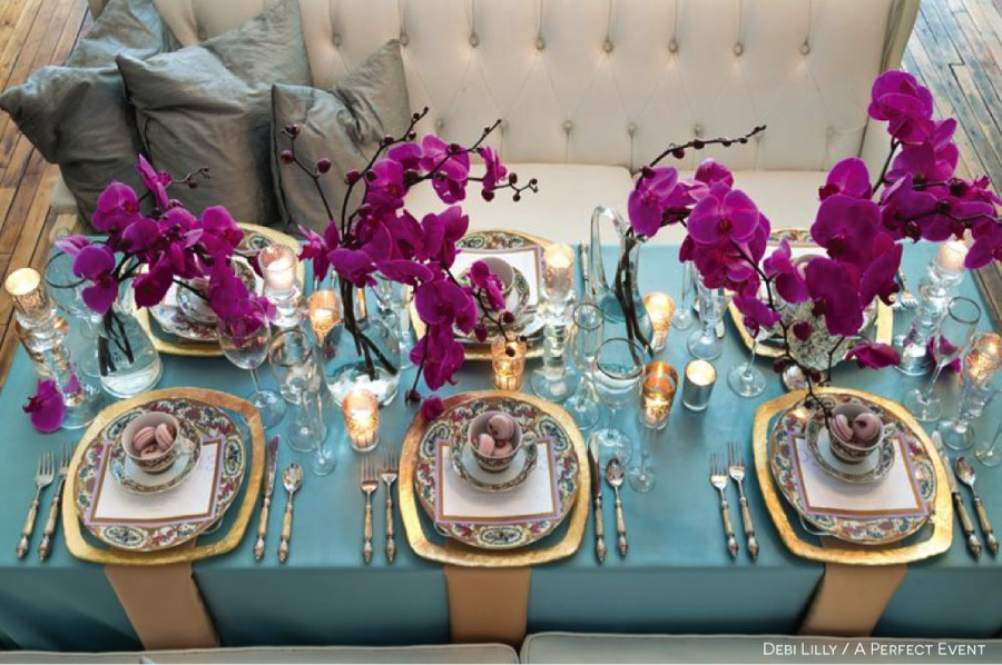 Creating The Perfect Tiffany Blue Wedding