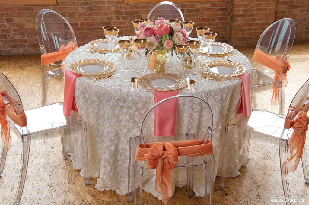 Apricot Inspired Table
