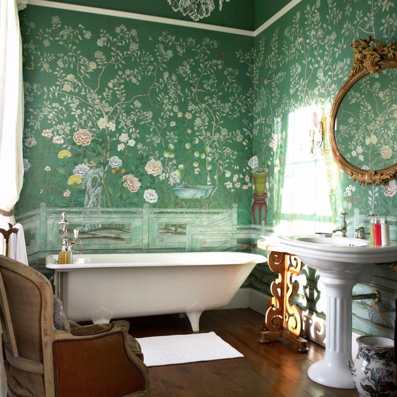 custom home renovation bathroom design