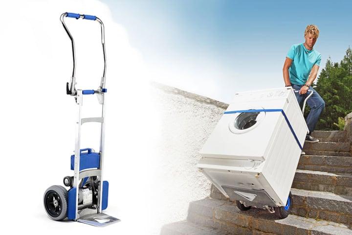 Devi trasportare Elettrodomestici? Ti presentiamo il carrello saliscale SILVER 140 F