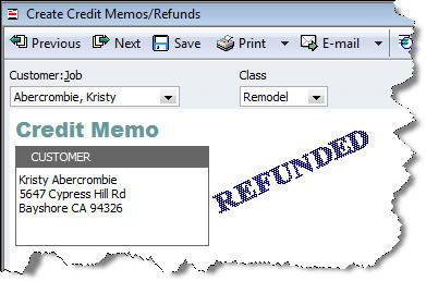 Invoicing For Mac Quickbooks  Customer Refunds Are You Doing Them Correctly E-invoicing Pdf with Invoice Template Indesign Excel Quickbooks Customer Refunds Sample Invoice For Professional Services Excel