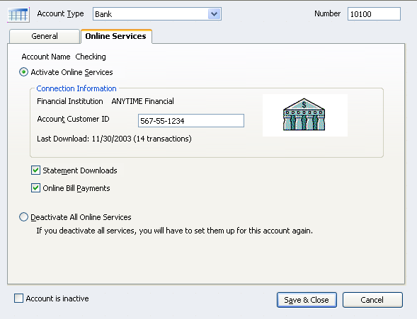 Recently Asked: Correcting a QuickBooks online banking center mistake