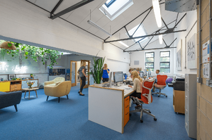 Märraum Architects_Penryn_Warehouse_Studio J roof