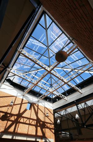 Märraum Architects_Penryn_Warehouse_rooflight portrait