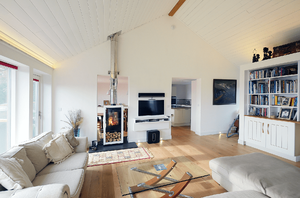Märraum Architects_Feock_full renovation_sofa with fire