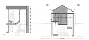 Märraum Architects_Falmouth_full renovation_headheight detail