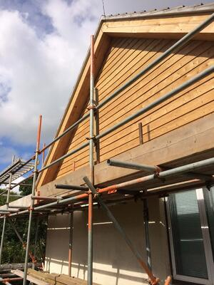 Märraum Architects_Falmouth_Loft conversion_construction_gable