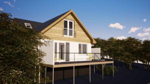 Märraum Architects_Falmouth_Loft conversion_external cgi