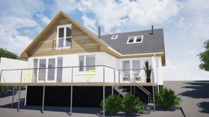 Märraum Architects_Falmouth_Loft conversion_rear cgi