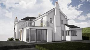 Märraum Architects_Feock_extension_external side