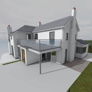 Märraum Architects_Feock_extension_render