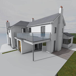Märraum Architects_Feock_extension_render