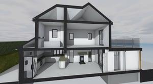 Märraum Architects_Feock_extension_section