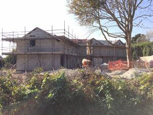 Märraum Architects_St Mawes_new build_construction from road