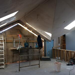 Märraum Architects_St Mawes_new build_construction progress