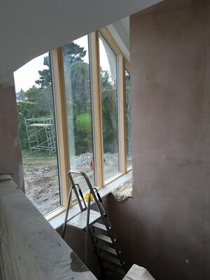 Märraum Architects_St Mawes_new build_construction window